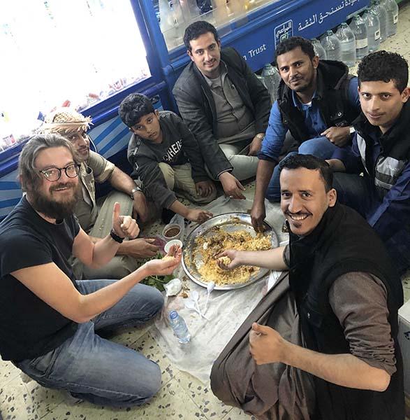 Mangiare da arabo