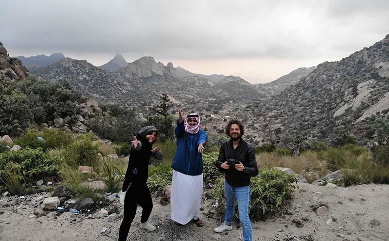 Capodanno a Taif con Hassan