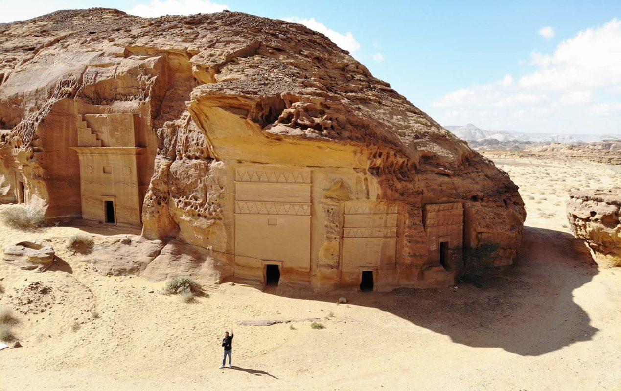 Tombe Nabatee a Madain Saleh