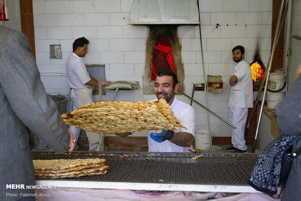 Sangak pane iraniano 6
