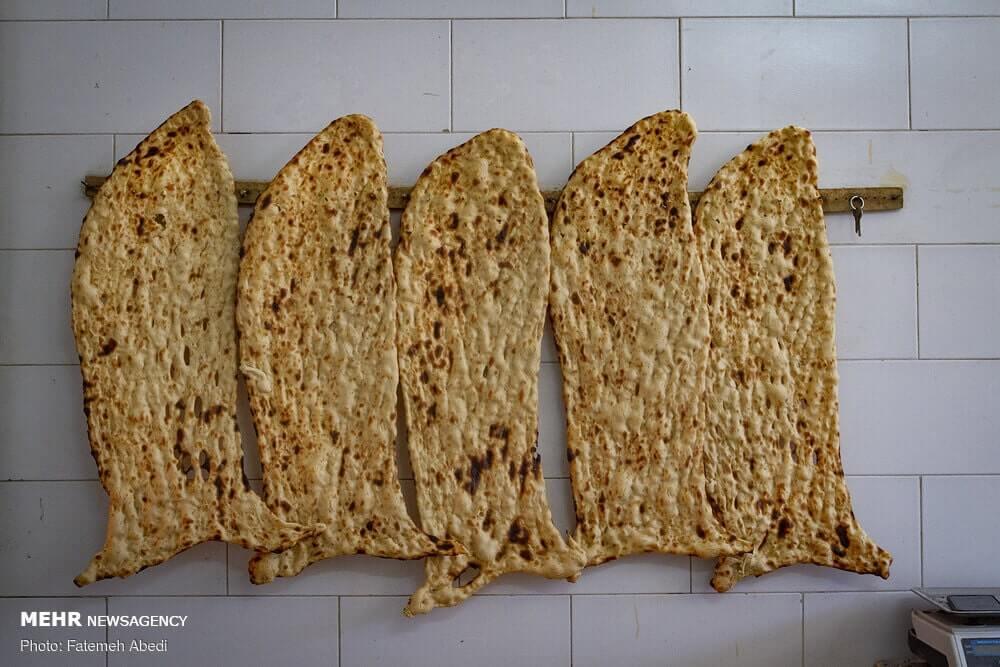 Sangak pane iraniano 10