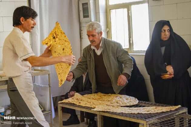 Sangak pane iraniano 3