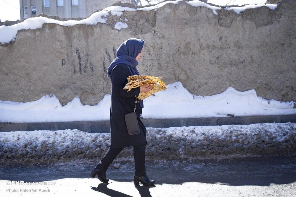 Sangak pane iraniano 4