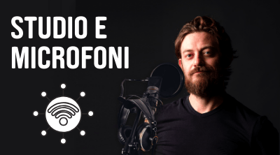 microfono da podcast